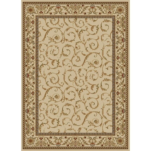 Weisgerber Ivory Area Rug by Astoria Grand