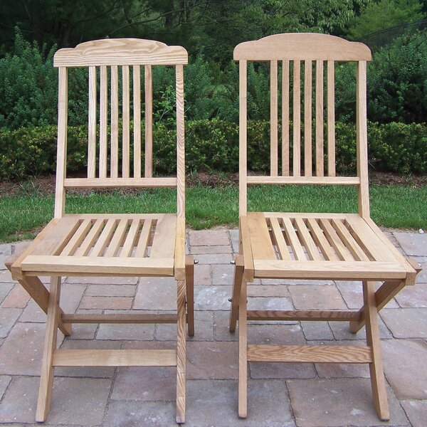 Stacking Patio Dining Chair (Set of 2) by Oakland Living