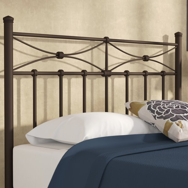 Hagues Metal Open-Frame Headboard by Andover Mills