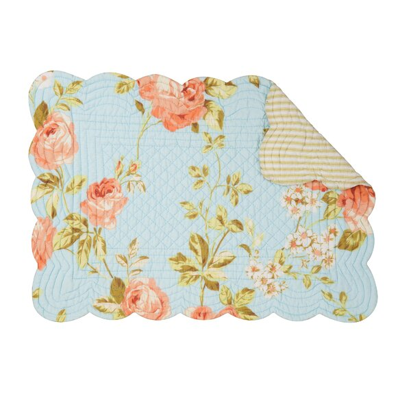 Whitney 19 Placemat (Set of 6) by C&F Home