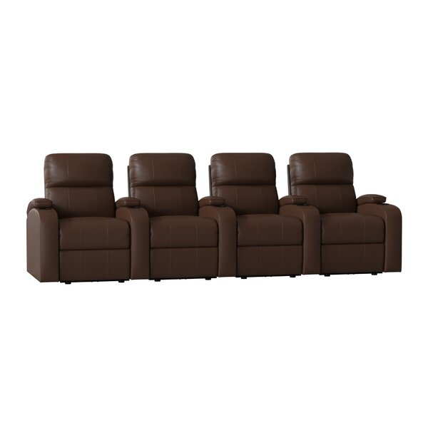 Edge XL800 Home Theater Lounger (Row of 4) by Octane Seating
