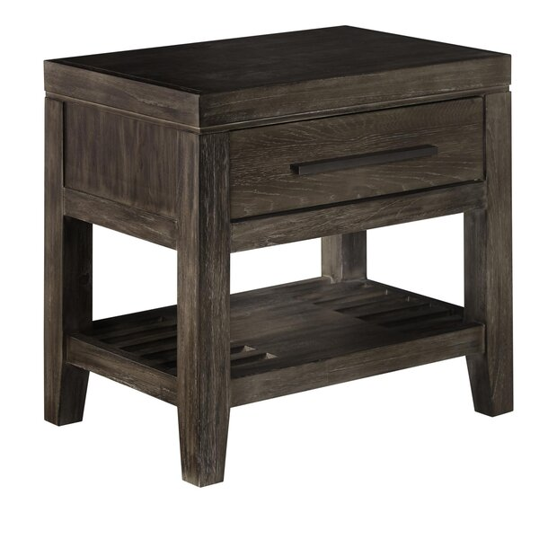 Vickrey 1 Drawer Nightstand by Brayden Studio