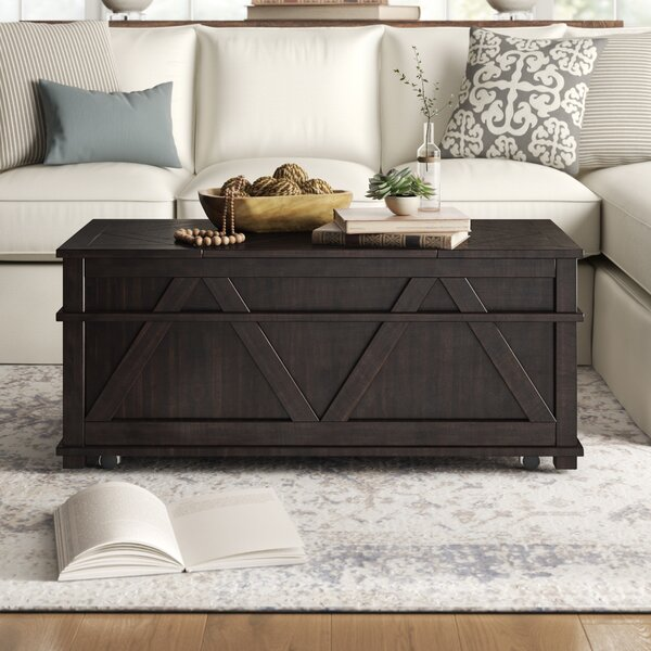 Beacham Coffee Table With Storage By Birch Lane™ Heritage