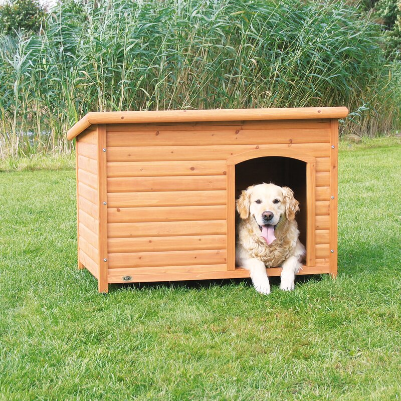 X-Large Wooden Dog Club House