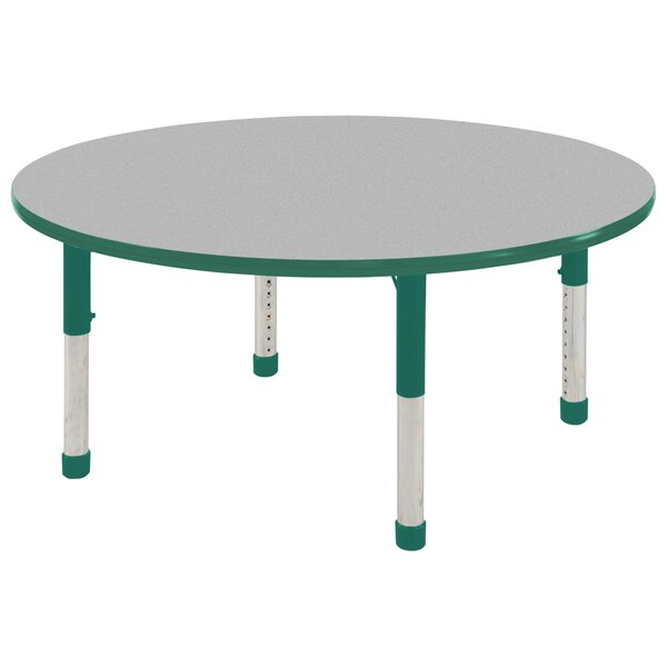 9 Piece Circular Activity Table & Chair Set by ECR4kids