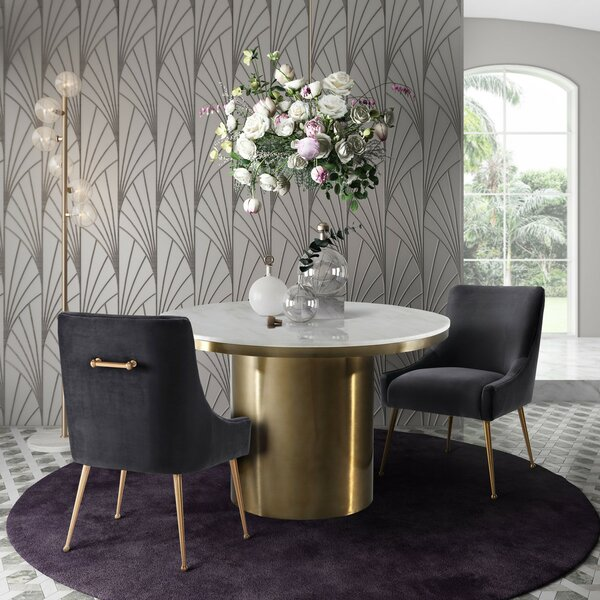 Rena Dining Table by Everly Quinn