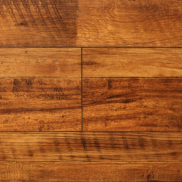 8 x 48 x 12.3mm  Laminate Flooring in Vintage Wheat (Set of 22) by Serradon