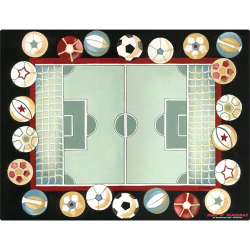 Soccer Field Play Placemat by Magic Slice