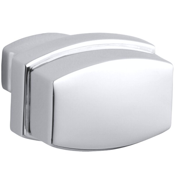 Bancroft Rectangle Novelty Knob by Kohler