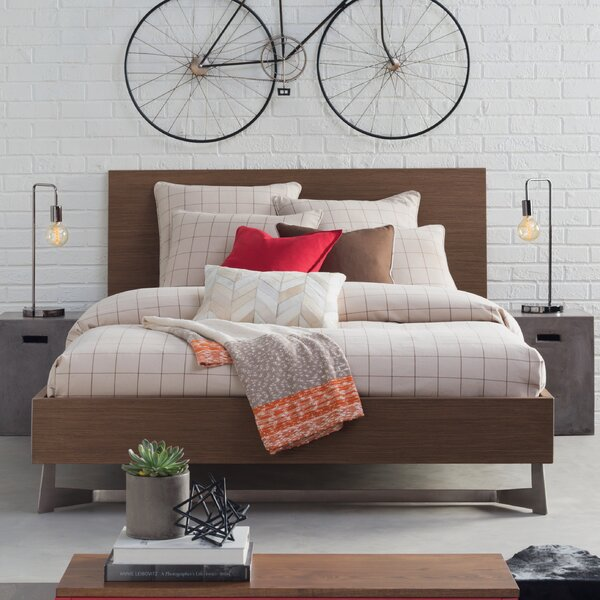 Modloft Broome Platform Bed Amp Reviews Wayfair