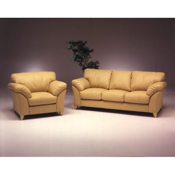 Nevada Leather Configurable Living Room Set by Omnia Leather