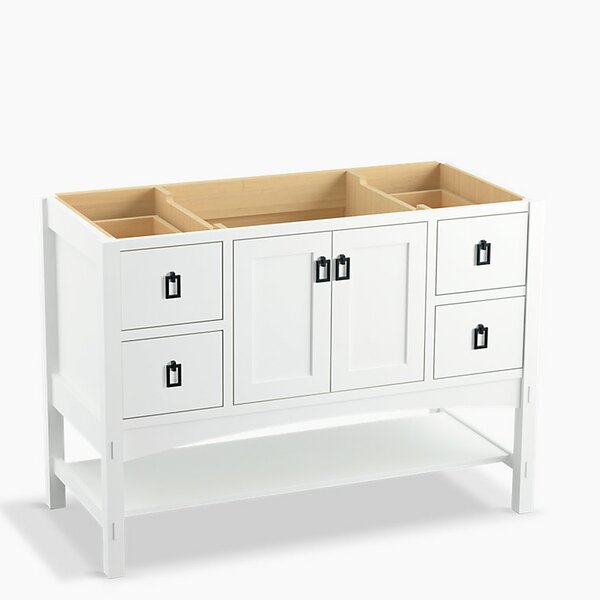 Marabou™ 48 Vanity with 2 Doors and 4 Drawers, Split Top Drawers by Kohler
