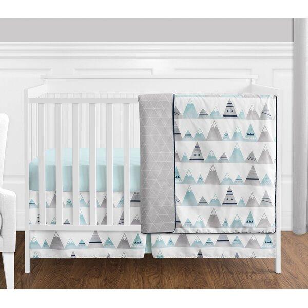 Mountains 4 Piece Crib Bedding Set by Sweet Jojo Designs