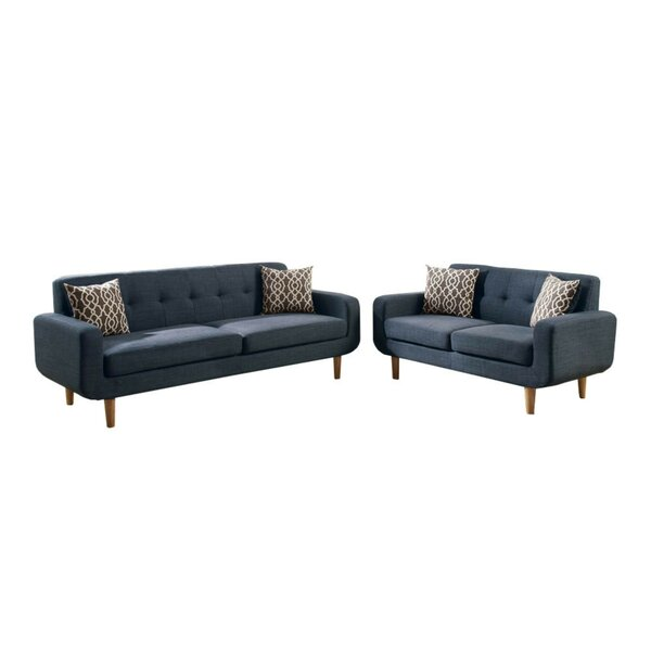 Crookston 2 Piece Living Room Set by Latitude Run