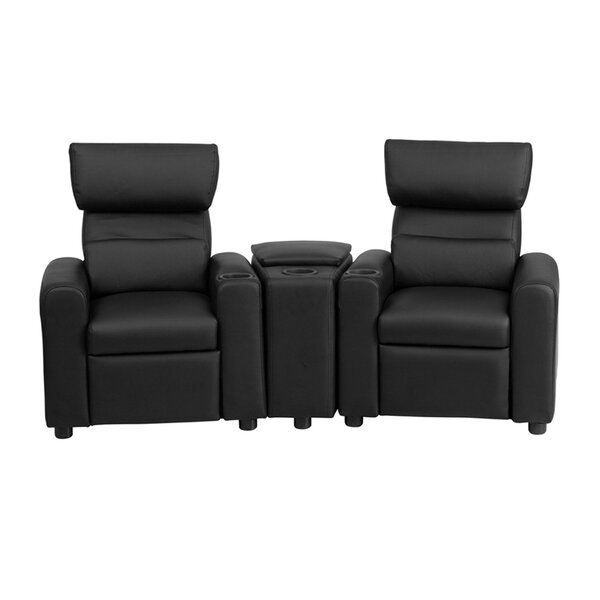 Kid's Reclining Home Theater Loveseat (Row Of 2) By Ebern Designs