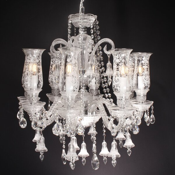 Rodin 8 - Light Shaded Classic / Traditional Chandelier by Astoria Grand Astoria Grand