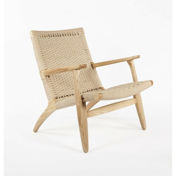 Wisbech Ash Lounge Chair by Bungalow Rose