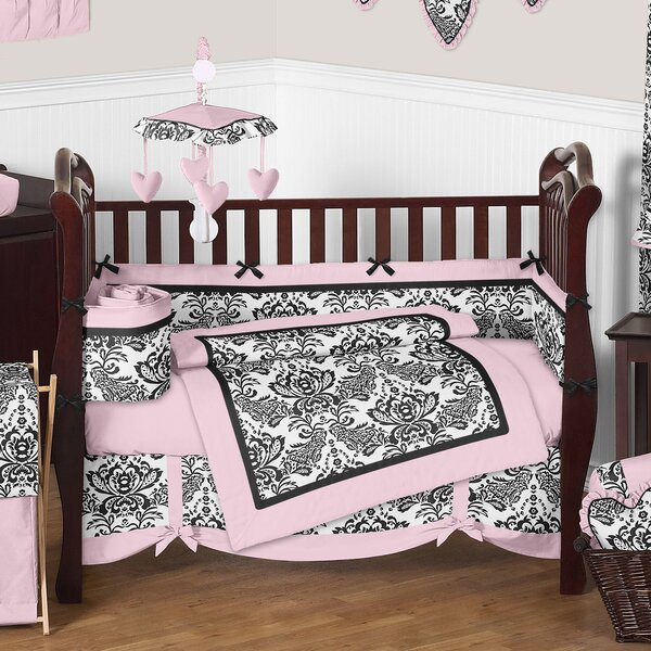 Sophia 9 Piece Crib Bedding Set by Sweet Jojo Designs