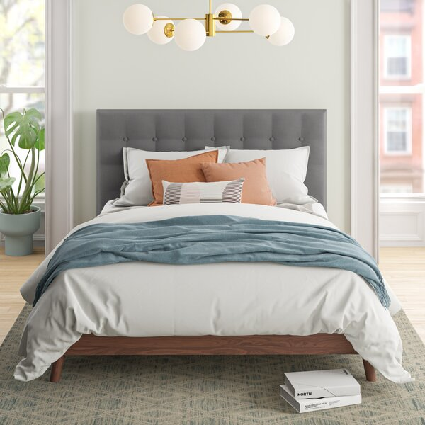 Alaina Tufted Platform Bed by Foundstone Foundstone
