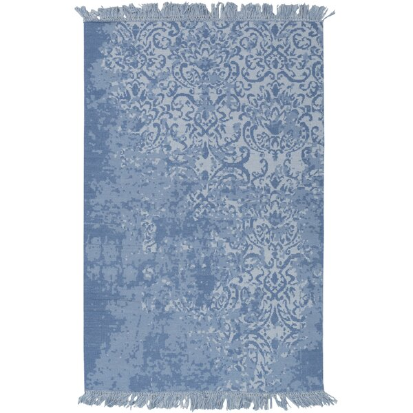 Cedartown Hand-Woven Blue Area Rug by Bungalow Rose