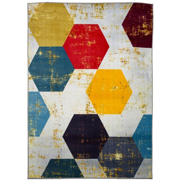 Loyd Queen Bee Area Rug by Brayden Studio