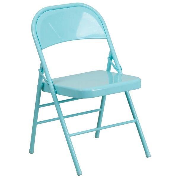 Hercules Metal Folding Chair by Flash Furniture