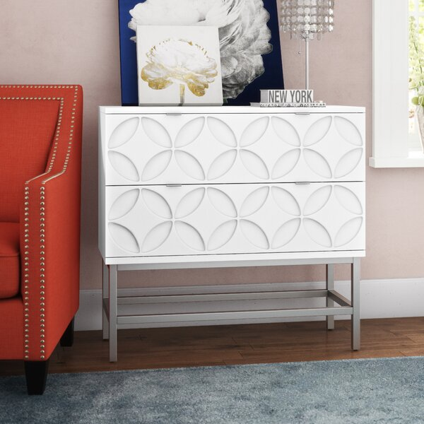 Walthall 2 Drawer Accent Chest by Mercer41