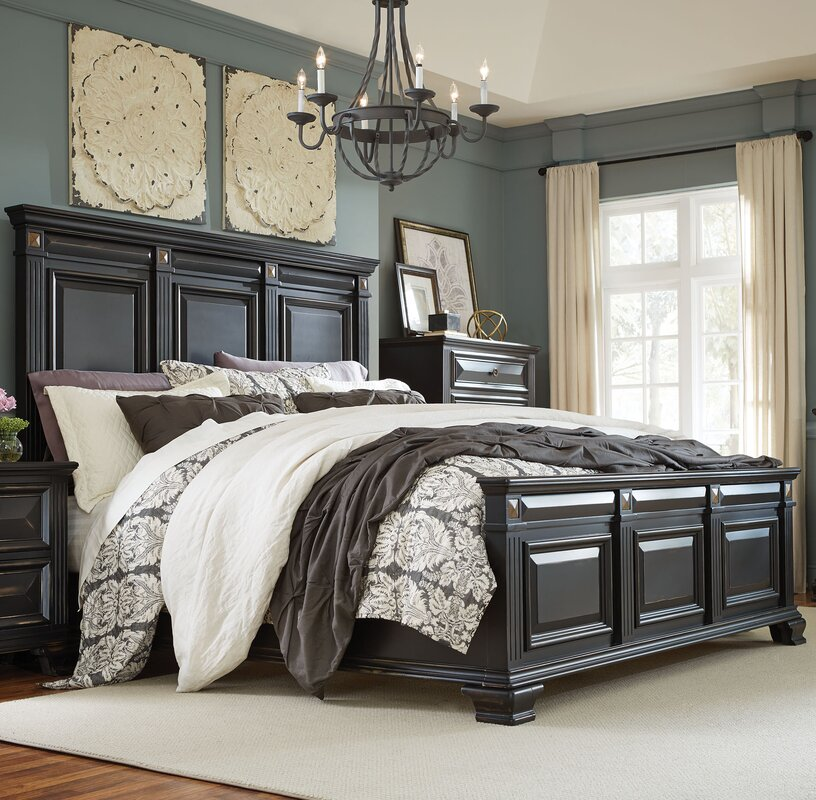 darby home co petronella panel configurable bedroom set 87052
