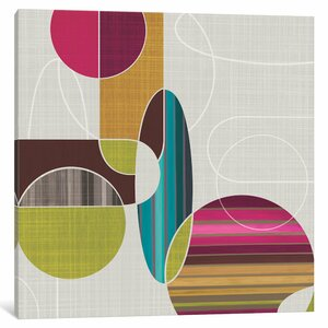 'Blast from the Past I' Graphic Art Print on Wrapped Canvas by East Urban Home