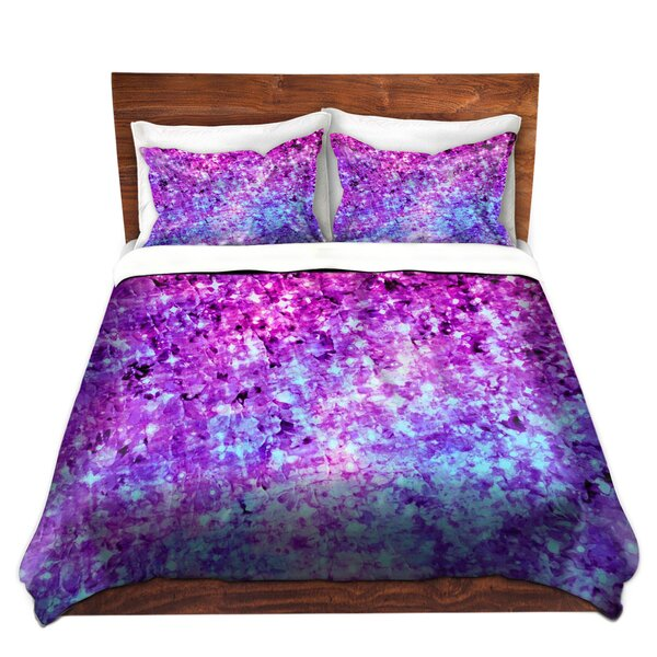 Radiant Orchid Galaxy Duvet Cover Set