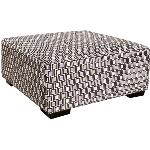 Arella Tufted Ottoman by Latitude Run