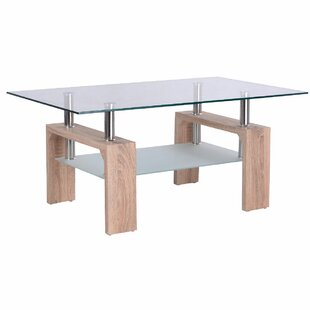 Machado Glass Coffee Table