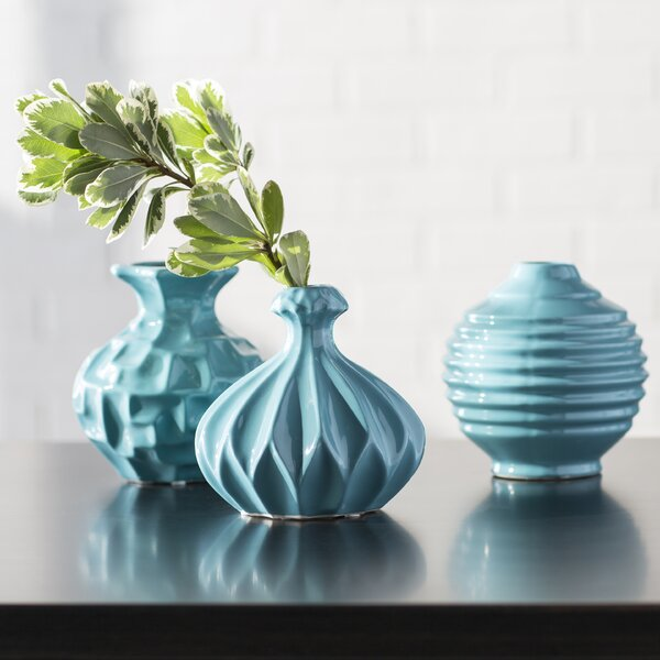 Table Vase (Set of 3) by Mercury Row