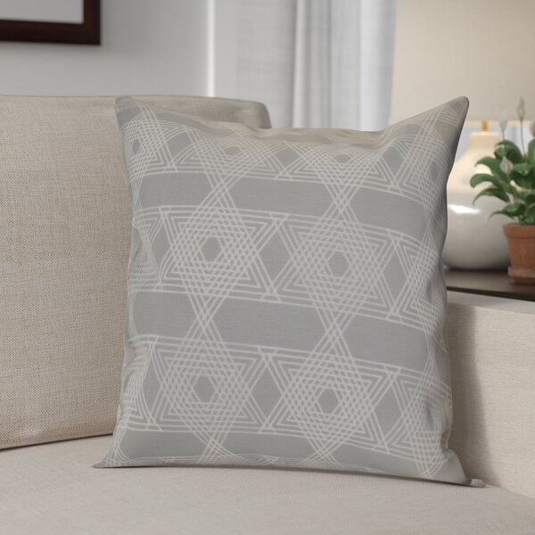 Hanukkah 2016 Decorative Holiday Geometric Throw Pillow by The Holiday Aisle