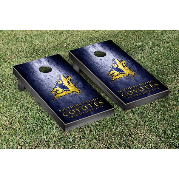 Southern Nevada Coyotes Banner Metal Version Cornhole Game Set by Victory Tailgate
