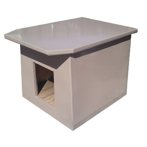 insulated dog houses you'll love | wayfair