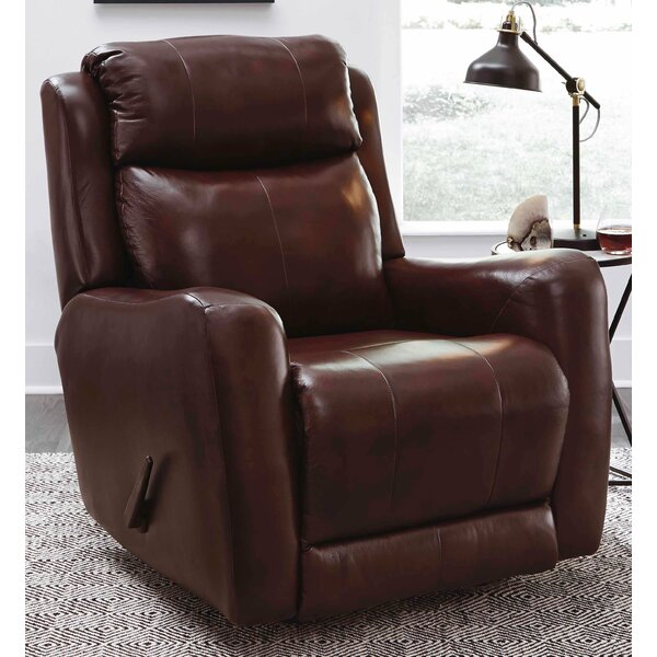 View Point Leather Manual Recliner by Southern Motion Southern Motion