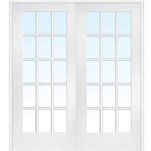 Interior glass french doors wayfair mdf primed interior french door planetlyrics