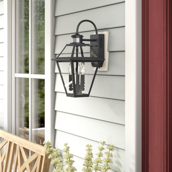 Gravesend 1-Light Outdoor Wall Lantern by Sol 72 Outdoor