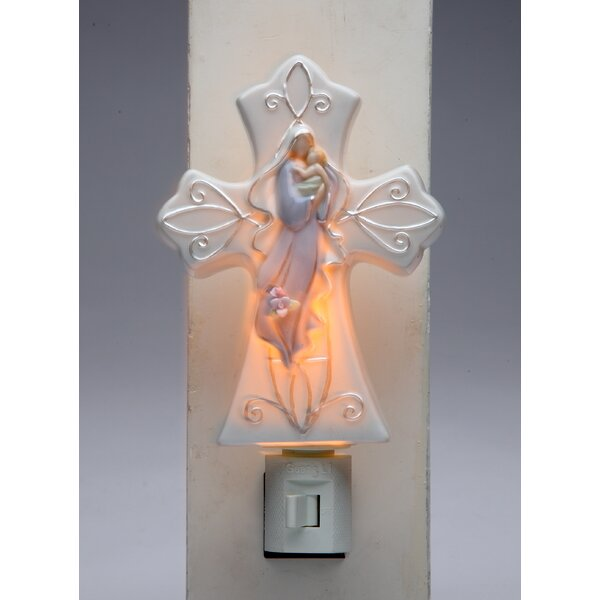 Madonna with Baby Plug Night Light by Cosmos Gifts