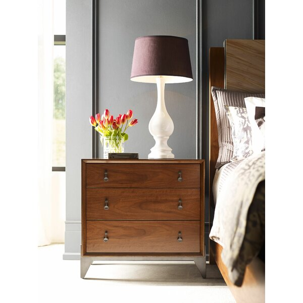 Elyse 3 Drawer Nightstand by Foundry Select Foundry Select