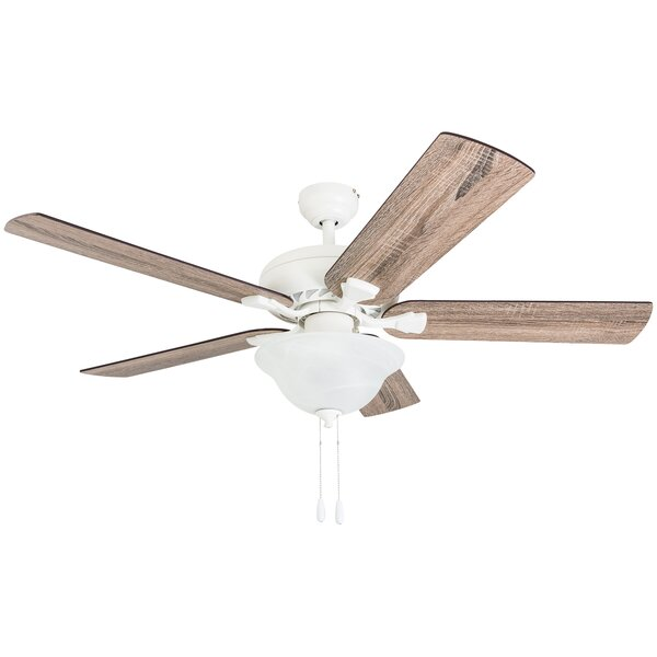 52 Bednarek 5 Blade LED Ceiling Fan by Highland Dunes