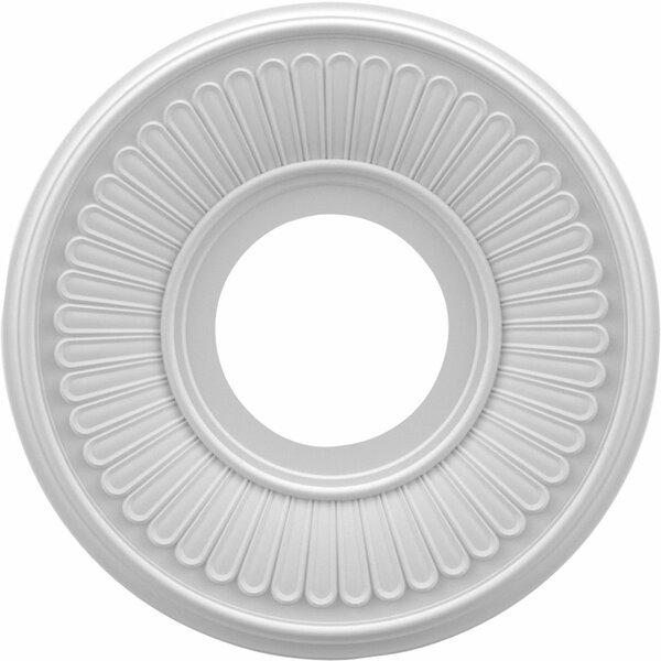 Berkshire 0.75H x 10W x 10D Ceiling Medallion by Ekena Millwork