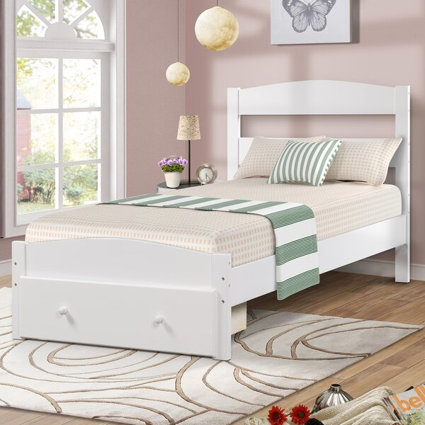 Mcguigan Twin Platform Bed with Drawers by Harriet Bee