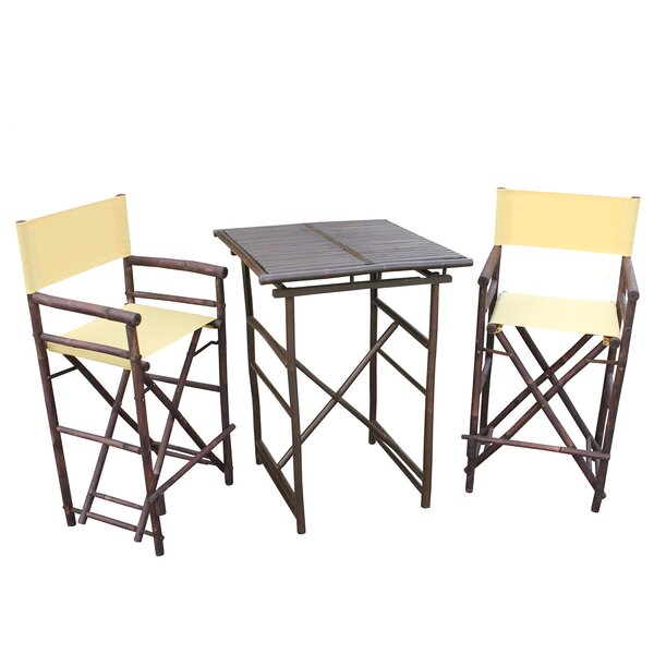 3 Piece Dining Set by ZEW Inc