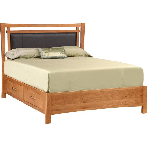 Monterey Upholstered Storage Platform Bed by Copeland Furniture