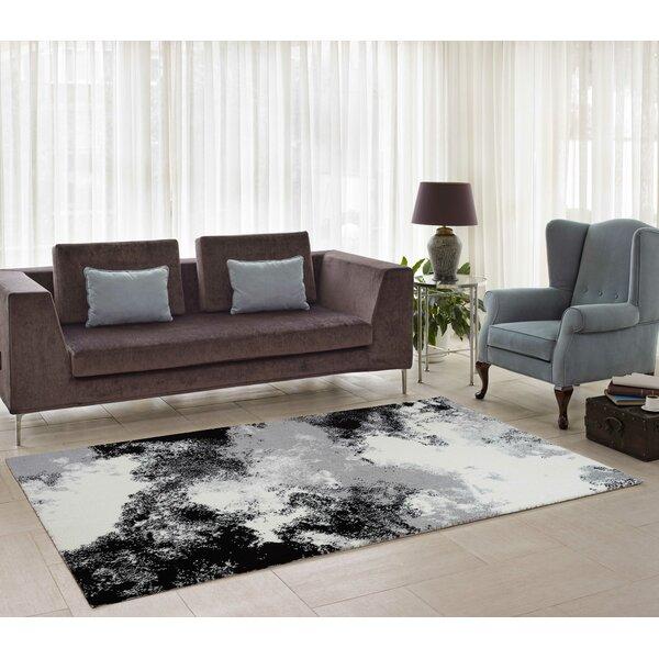Chani Gray/Cream Indoor Area Rug by Orren Ellis