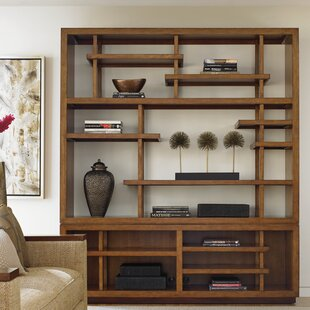 Best Deals Island Fusion Taipei Media Oversized Set Bookcase by Tommy Bahama Home