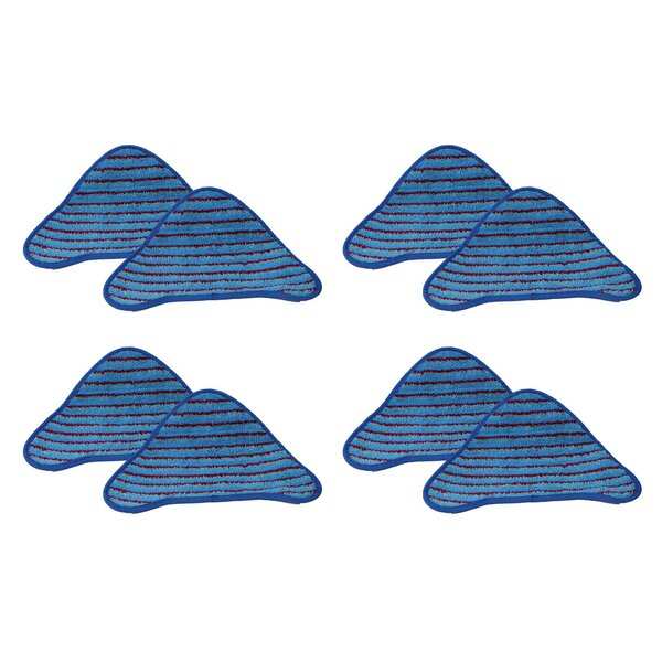 Hoover Scrubbing WH20200 Steam Mop Pad (Set of 8) by Crucial