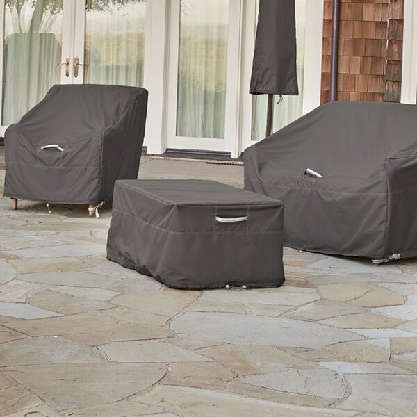 Breathable Patio Table Cover by Freeport Park